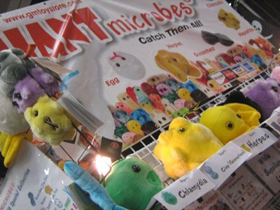ComicCon 2011 microbes plush toys