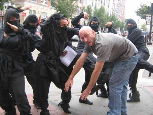 ComicCon ninja gang