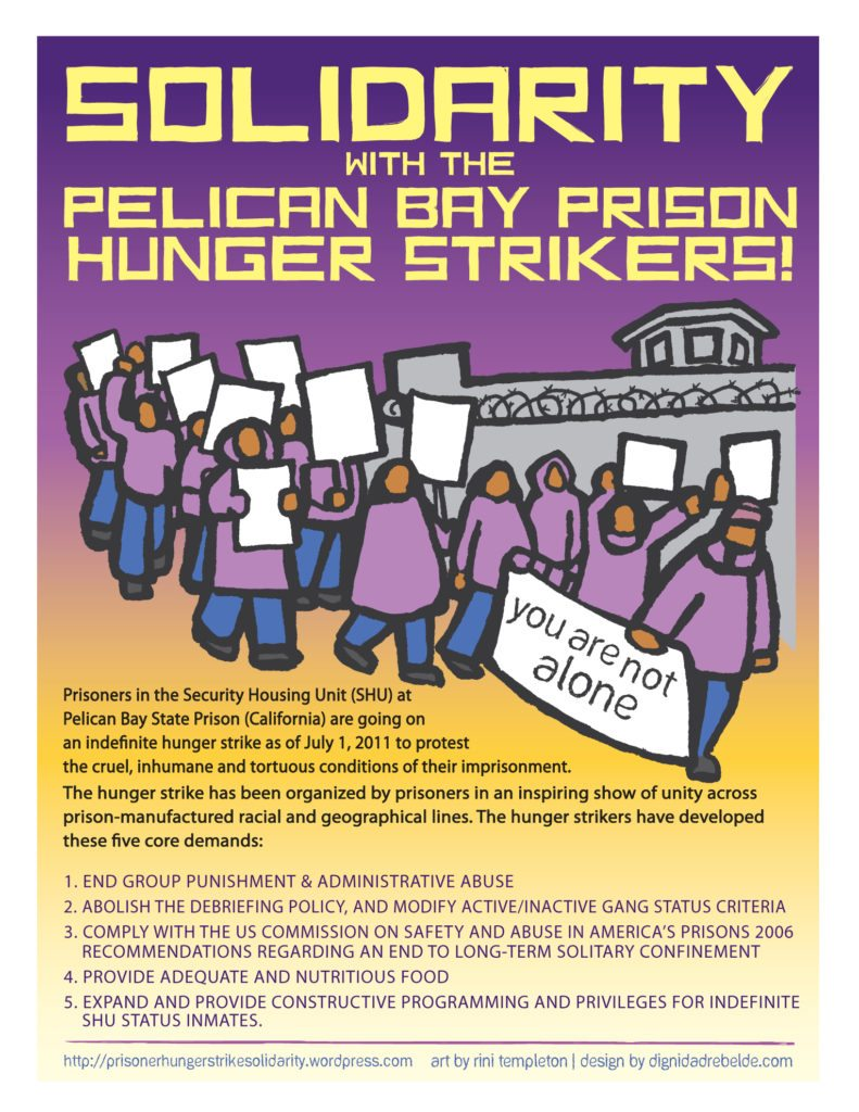 Hunger Strikers' DEMANDS AND GRIEVANCES at Folsom Prison