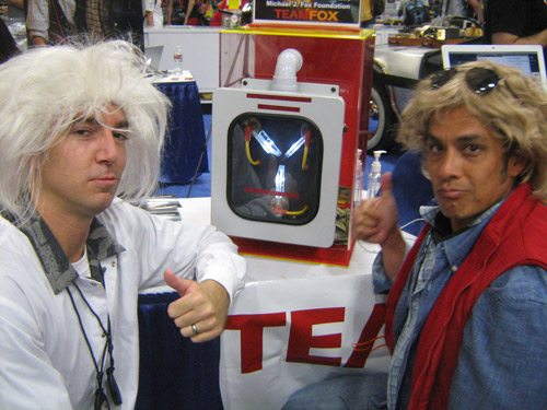 Flux Capacitor San DIego ComicCon 2011 back to the future
