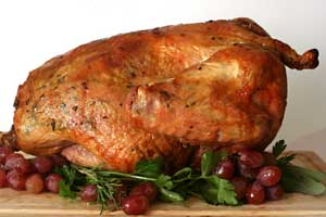 "Post image for ""Flipping the Bird"" at the Holidays – How to Cook the Juiciest Roast Turkey You've Ever Tasted"
