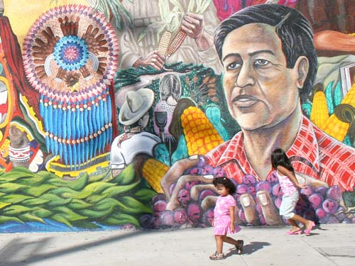 The abandonment of the barrio for Chicano mural movement