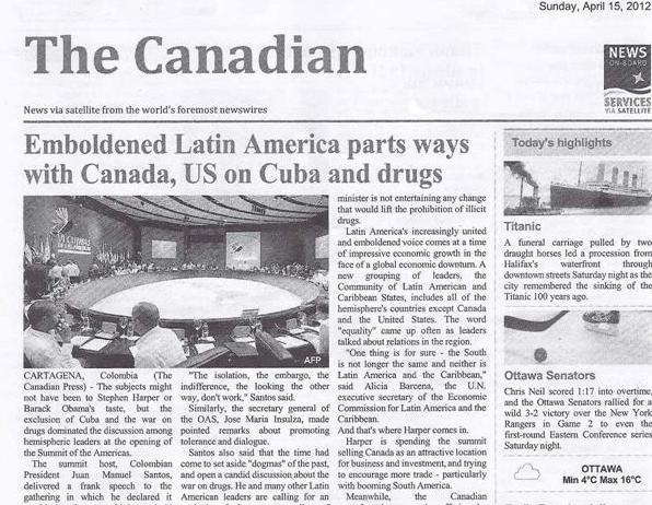 Cartagena.    Press Tells  What Really Happened Cartagena-01