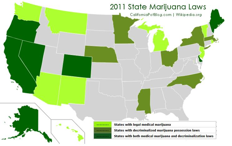 California and Massachusetts – have already decriminalized marijuana ...