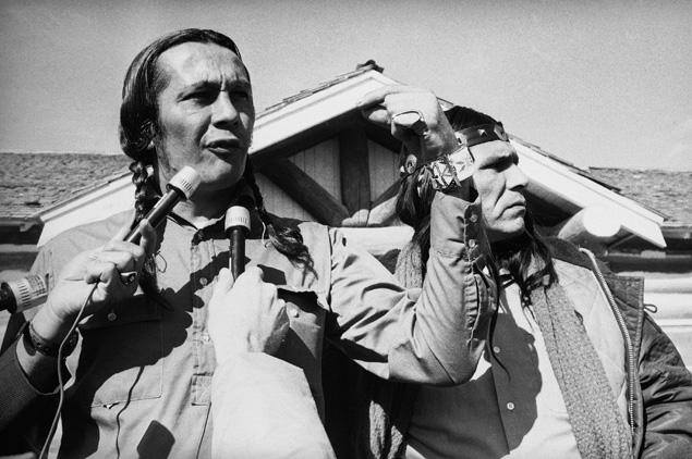 means russell native american wounded knee 1973 1960 activist aim reservation indian movement dennis banks clyde sd indians ridge young