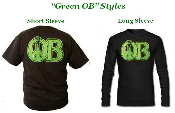 OB Rag Tshirt GrnOB