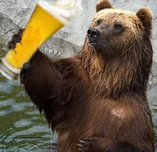 Image result for DRINKING BEAR