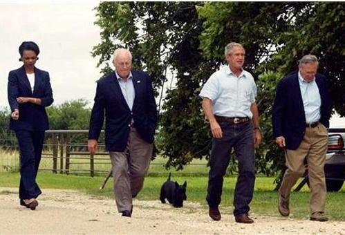Bush Cheney Rice Rumsfeld ed