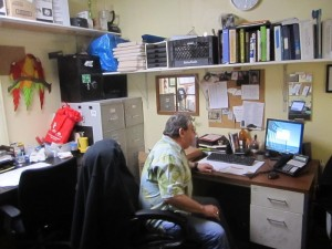 Dave Martin desk-ed
