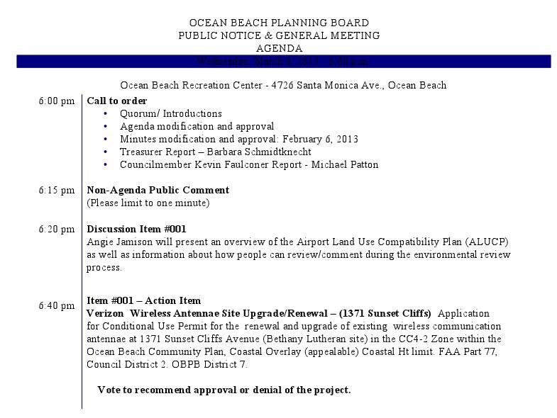 OB Plan Bd agenda 3-6-13 a