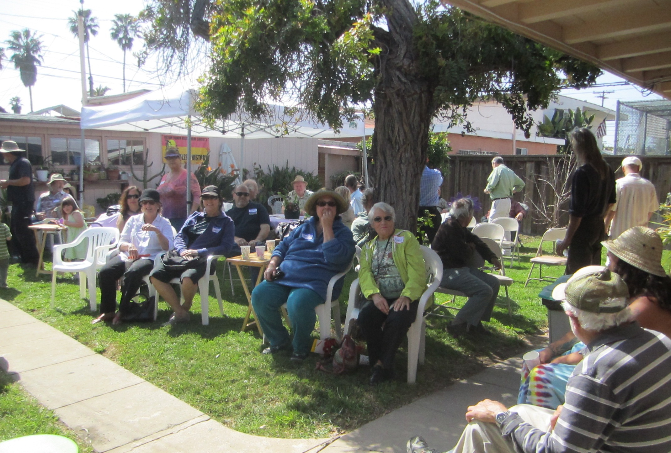 OB Wisteria Party 3-23-13 backyd