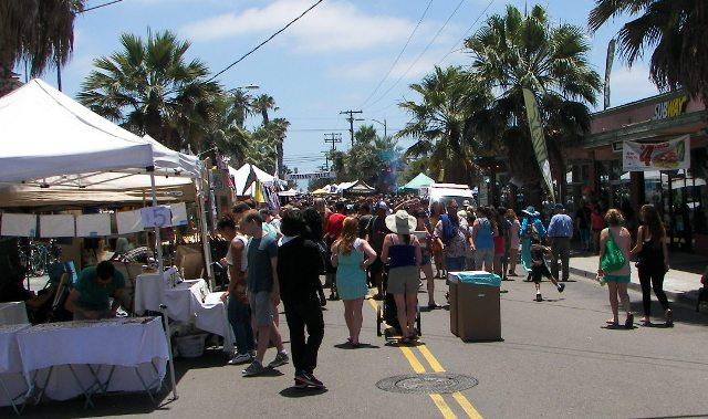 OB Street Fair TomC street