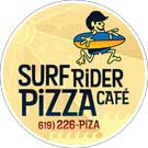 surf rider pizza logo