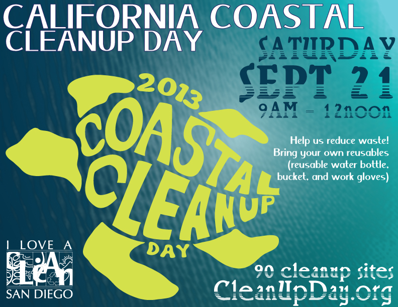 Coast cleanup 9-21-13