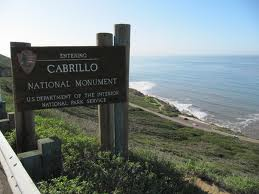 Cabrillo NatMon sign