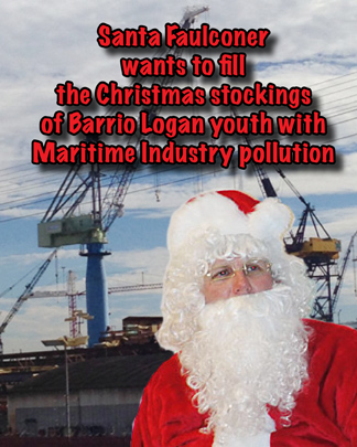 Kevin Faulconer santa barriologan