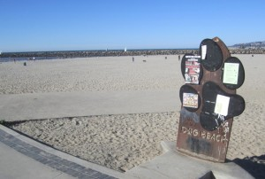 OB Dist 1 DogBeach sign