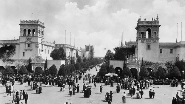 Balboa Park Panama Cent 1915