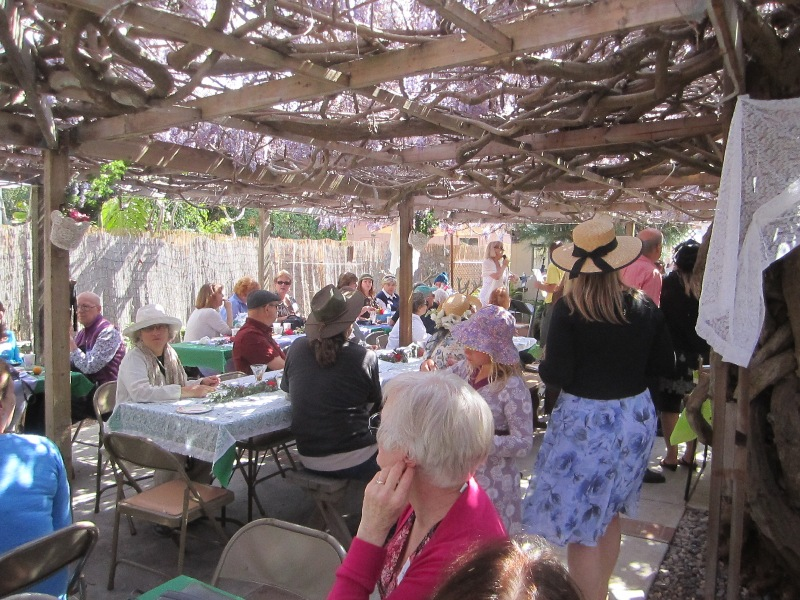 OB Wisteria Party 3-23-13 crowd04