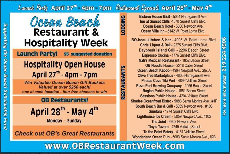 OB Restaurant Wk 2014