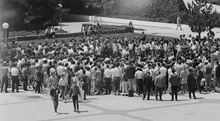 UCSD quad protest 1969-70a