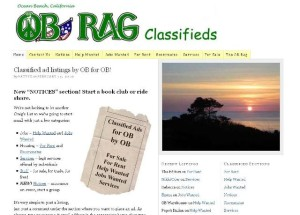 Post image for The OB Rag Calendar and Free Classifieds Are the Best in the Village
