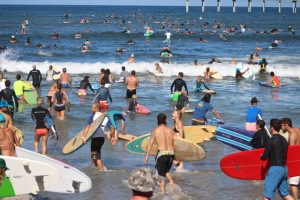 Post image for Paddle Around the OB Pier for Clean Water Attracts Hundreds
