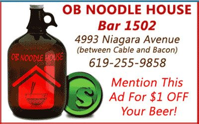 OB Noodle House Bar 1502