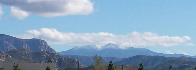 Post image for Snow in Lagunas From Lakeside