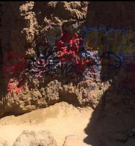 Post image for Sunset Cliffs Getting Tagged