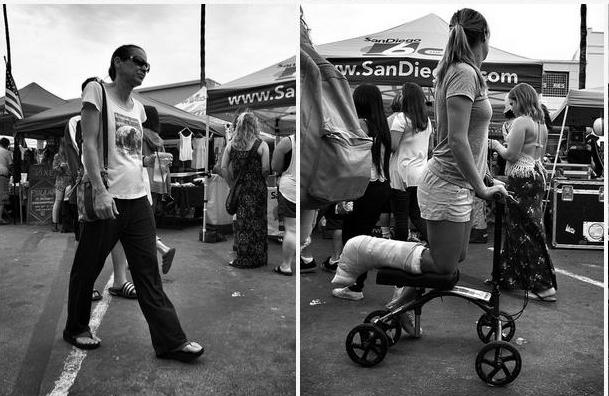 Post image for People Watching at the OB Street Fair – a Photo Gallery