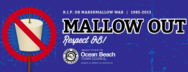 "Post image for The ""Mallow Out"" Campaign for Ocean Beach Continues for July 4th"