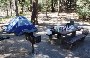 Post image for Camping on Mt Palomar on the Edge of the Wilderness