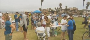 Post image for Anti-Fracking Demonstration Held in Ocean Beach