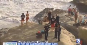 Post image for Search for Missing Swimmer off OB Continues