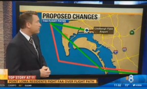 Post image for Point Loma Residents Mobilize Against Proposed New Flight Paths by FAA for Lindbergh