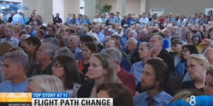 Post image for 1,000 Point Loma Residents Sound Off at FAA Meeting