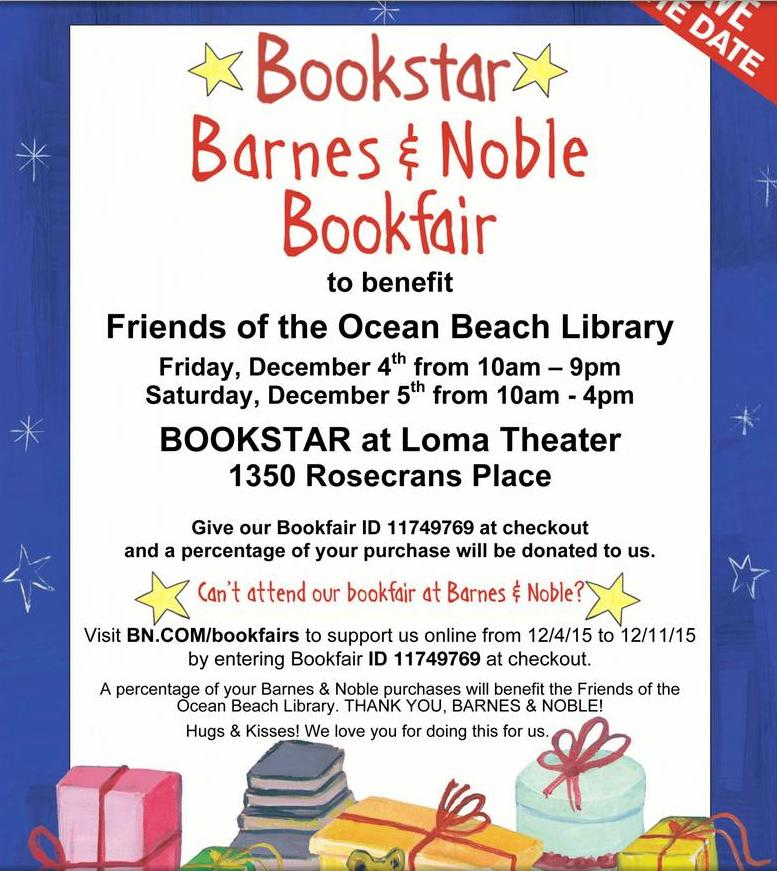 OB Friends of Lib Bookstar poster