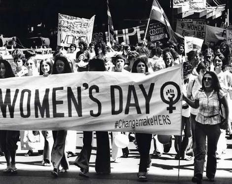 women's day protest