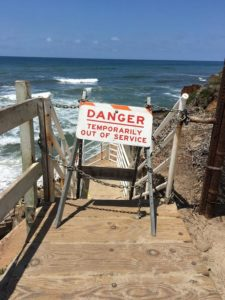 Post image for Stairs to Beach at Bermuda Avenue Have Collapsed