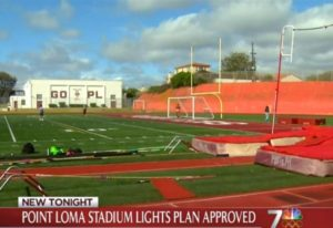 Post image for School Board Approves New Stadium Lights and Library at Pt Loma High
