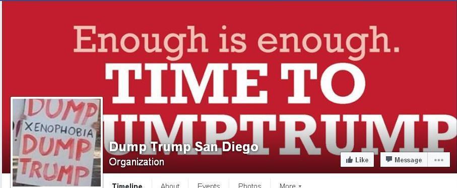 Trump DumpTrump fb -ed