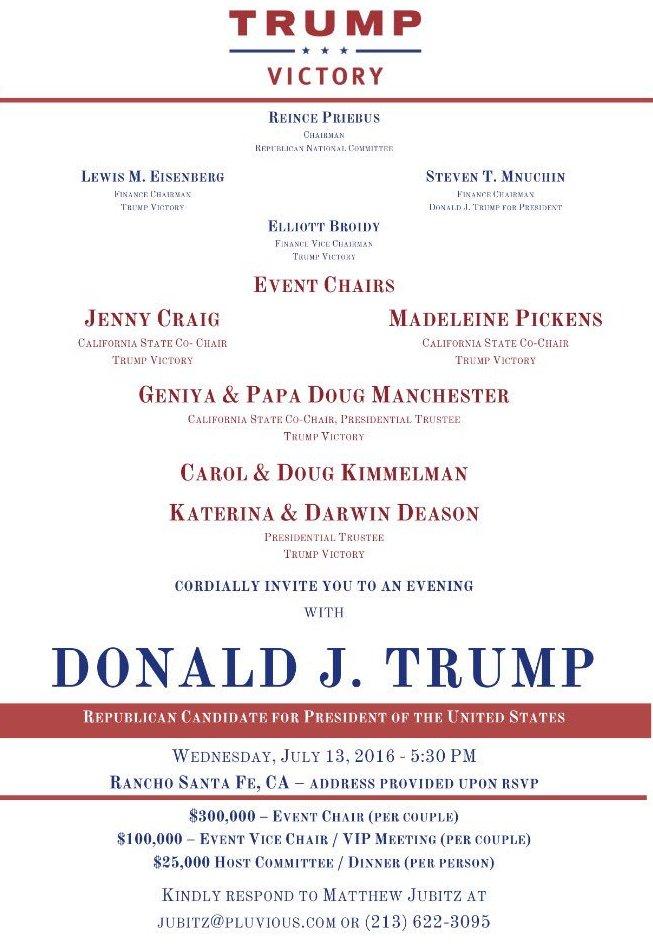 Trump invite RSF 7-13-16