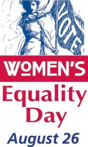 Post image for Women's Equality Day – August 26