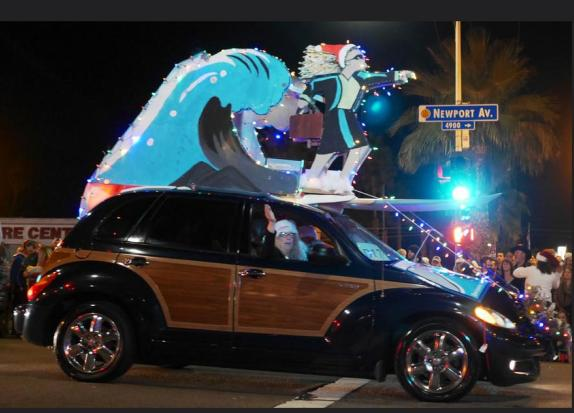 Post image for The Ocean Beach Holiday Parade – via the Lens of ACE